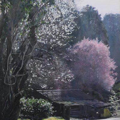 華の舞い|絵画・油絵・風景画