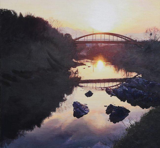 太陽の忘れ物 絵画・油絵・風景画