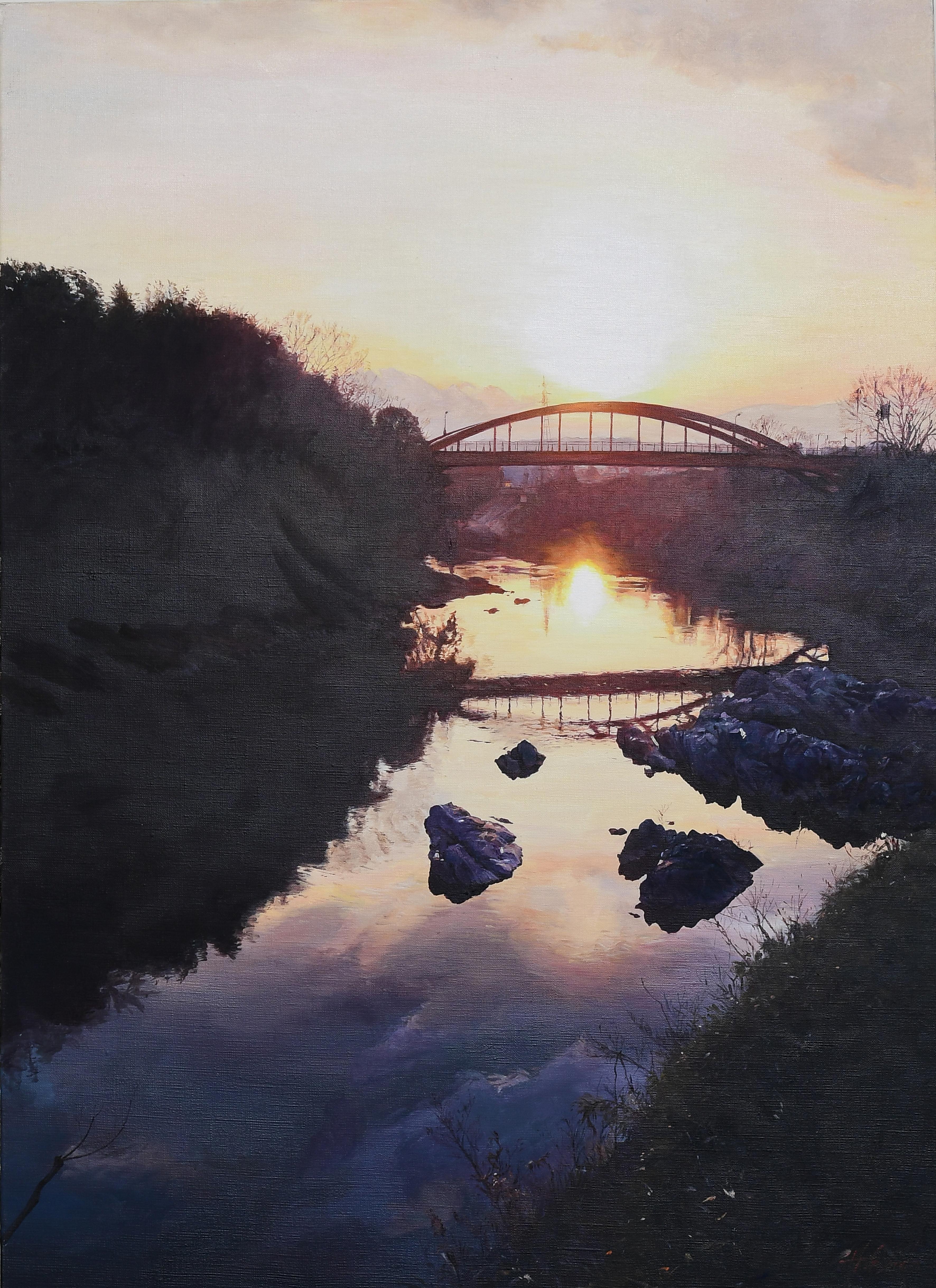 太陽の忘れ物|絵画・油絵・風景画