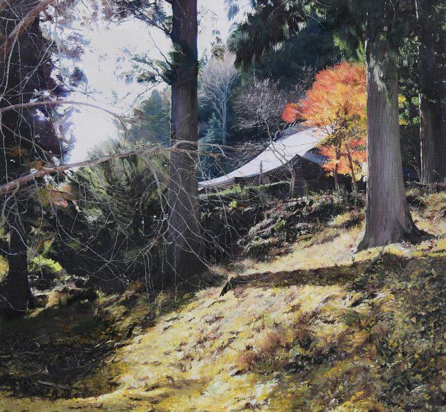 風の伝説 絵画・油絵・風景画