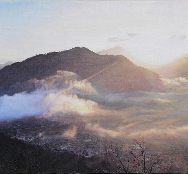 天女の吐息 絵画・油絵・風景画