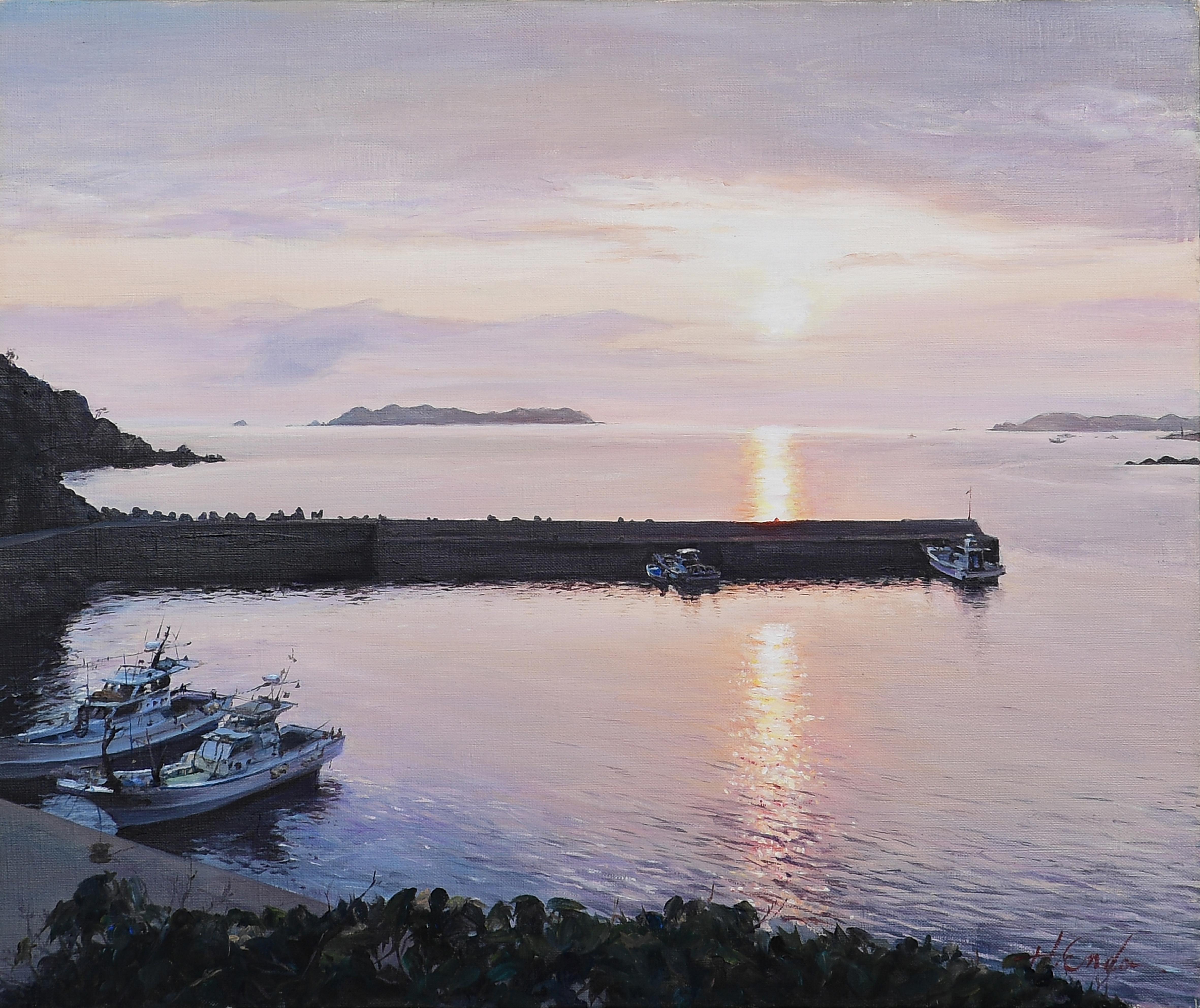 クロスの願い|絵画・油絵・風景画