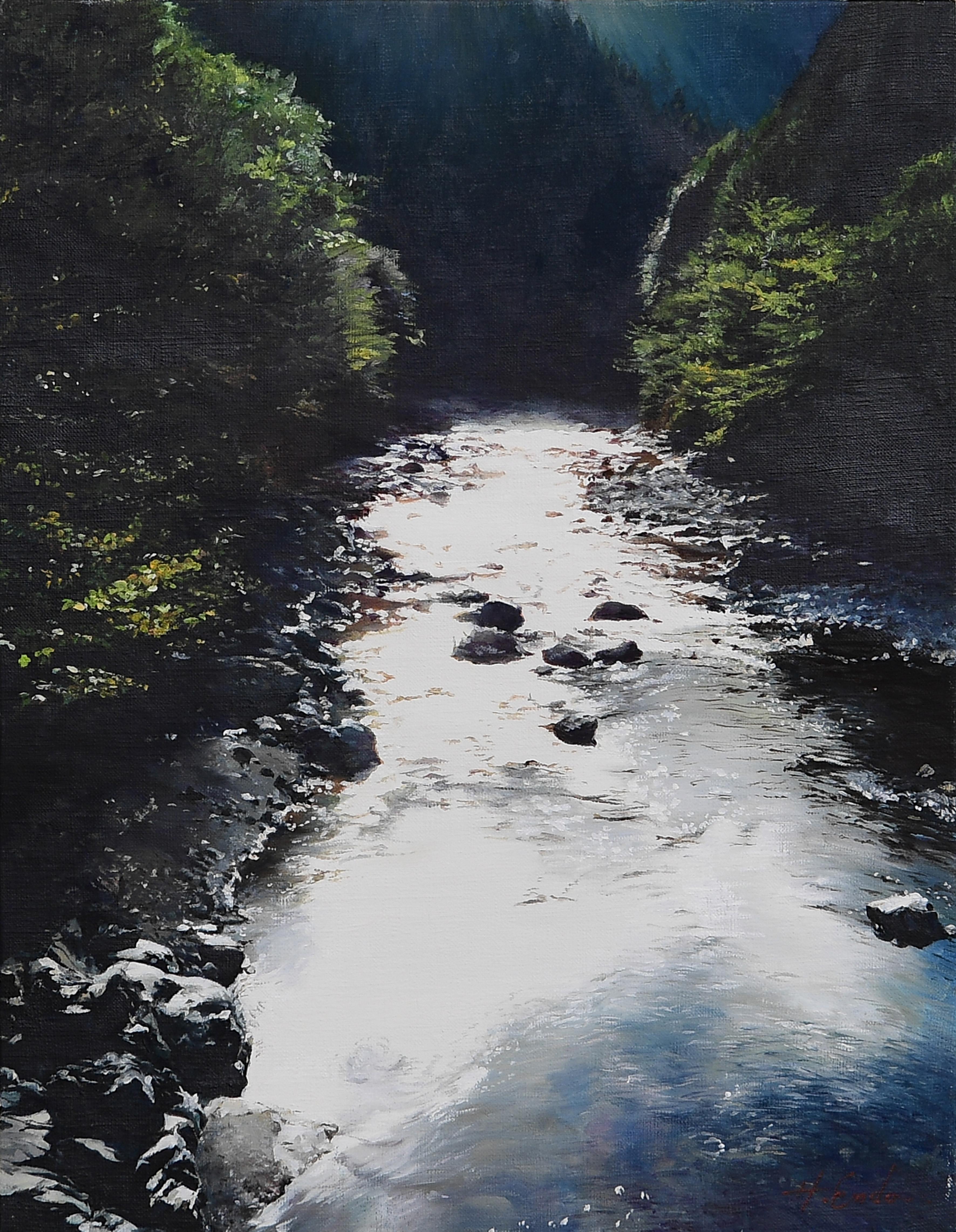 水誘う|絵画・油絵・風景画
